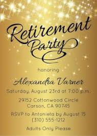 retirement announcement best ideas of free printable retirement party invitations