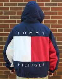 Tommy Hilfiger Flag Red Tommy Hilfiger Coat On The Hunt