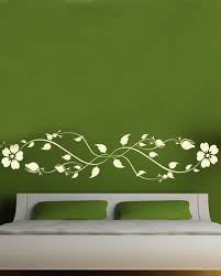 Compare Prices On Wall Bed Designs Online ShoppingBuy Low Price - Flower designs for bedroom walls