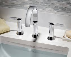 bathroom sink faucets amazon amazon com american standard 7430 801 295 berwick 2 lever handle
