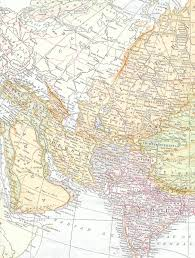 Middle East And Asia Map by Antique Images Free Map Clip Art Vintage Map Of Middle East And Asia