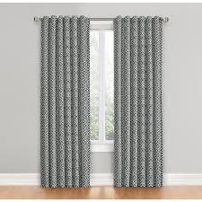 Lattice Design Curtains Shop Waverly Lovely Lattice 84 In Gray Cotton Back Tab Single