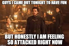Red Wedding Meme - image tagged in red wedding game of thrones imgflip