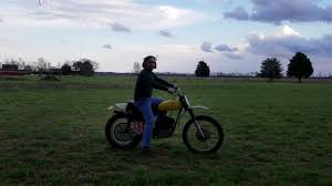 cz motocross bikes classic 1970 cz 250 motocross dirt bike youtube