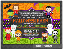 halloween party announcements halloween baby shower invitations gangcraft net 13th birthday