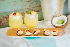 vodka soda big batch summer cocktail recipe coconut lime vodka soda hgtv