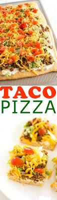 cuisine appetizer taco pizza appetizer w crescent roll crust kitchen gidget