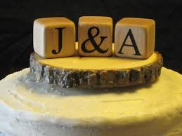 rustic monogram cake topper monogram cake topper rustic wedding cake topper custom wood