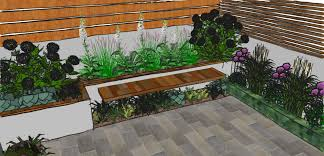small courtyard style garden design smart townhouse dsc garden garden design process designers london home