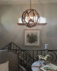 How To Make Chandelier At Home Driftwood Orb Chandelier Home Design Decorating Ideas