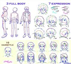 shonen hairstyles how to draw shonen image result for side view bases image anime