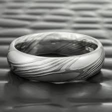 palladium wedding band classic palladium silver mokume wedding bands for women
