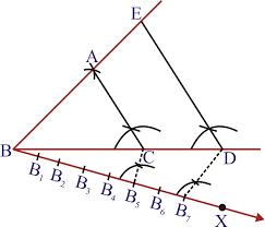 constructions exercise 11 1 mathematics ncert class 10th