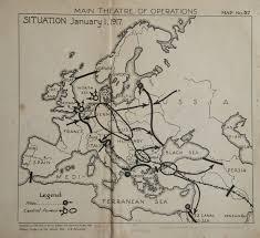 Ww1 Map First World War Map Historical Cartography