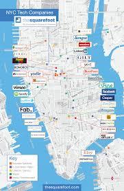 Map Of Nyc Neighborhoods Hottest Startup Neighborhoods In New York City Alleywatch
