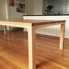 Best Timber Dining Tables Images On Pinterest Custom Dining - Custom kitchen table