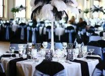 Black And White Ball Decoration Ideas Black And White Wedding Theme Reception Wedding Invitation Sample