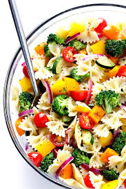 pasta salad recipe easy veggie lovers pasta salad gimme some oven