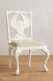 Anthropologie Dining Chairs Handcarved Menagerie Owl Dining Chair By From Anthropologie