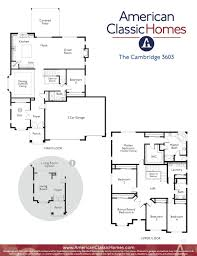 Car Floor Plan Cambridge Com Name American Classic Homes