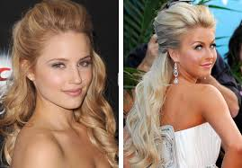 front poof hairstyles half up half down prom hairstyles blondelacquer