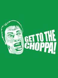 arnie get to the choppa s green t shirt inspired by predator