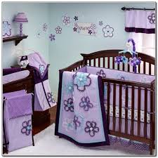 Purple Bedding For Cribs Purple Baby Bedding Crib Sets Beds Home Design Ideas