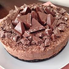 toblerone cheesecake with an oreo biscuit base recipes to cook