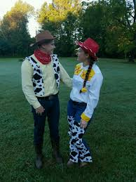 Woody Halloween Costumes Perfect Couples Costumes Woody Jessie Lovely