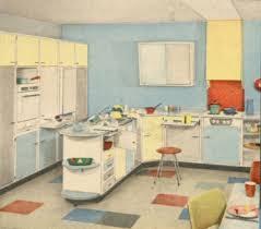 küche 50er wohnstil 50er jahre