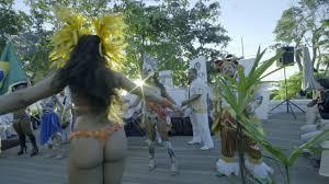 carnival dancer seychelles 4k stock video 498 721 548