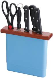 kitchen knives holder kitchen knife holder block in drawer with walnut wooden