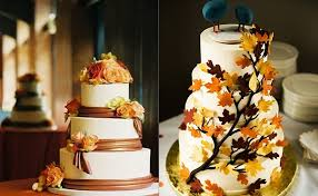 Fall Wedding Aisle Decorations - fall wedding cake ideas for incorporating effect into 2270694