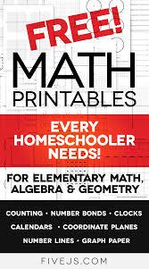 free math worksheet printables clocks graph paper coordinate