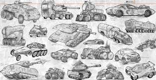 sketches land vehicles by nomansnodead on deviantart