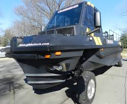 amphibious truck for sale gibbs launches 30 foot phibian high speed amphibian fast amphibians