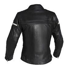 daytona ladies leather jacket black