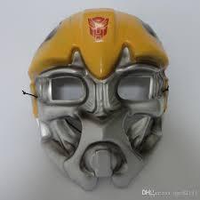 Bumblebee Transformer Halloween Costume 100 Pvc Material Transformers Bumblebee Mask Halloween Props