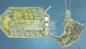 San Francisco Planning Map by Som Treasure Island Master Plan