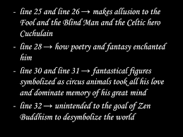 The Blind Owl Sparknotes The Circus Animals U0027 Desertion Ppt Download