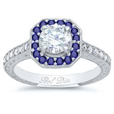 sapphire accent engagement rings debebians jewelry introducing sapphire accented