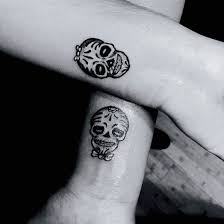 30 perfect matching his and hers tattoos sugar skull tattoos