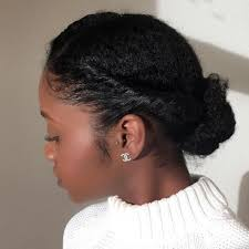 natural hair updo for 50 women 50 easy and showy protective hairstyles for natural hair updo