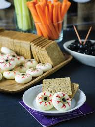 fun halloween appetizers 50 sweet and salty halloween snacks and treats hgtv