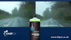 lexus touch up paint instructions drive more safely in heavy rain with chipex car screenwash