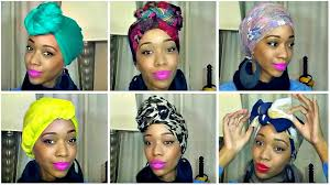 how to tie a headscarf black women u0027s natural hair styles a a h v