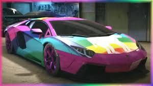 rainbow chrome lamborghini lamborghini aventador rainbow u2013 car image idea