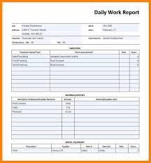 8 work report template bookkeeping resumeemployee report sample