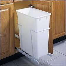 rack sack kitchen trash can system in cabinet trash cans apt