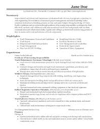 welding resume objective railroad resume resume for your job application professional maintenance foreman templates to showcase your talent